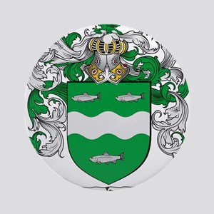 McCabe Family Crest Ornament (Round)
