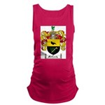 McCurdy Family Crest Maternity Tank Top