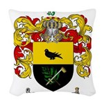 McCurdy Family Crest Woven Throw Pillow