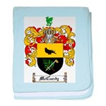 McCurdy Family Crest baby blanket