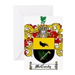 McCurdy Family Crest Greeting Cards (Pk of 20)