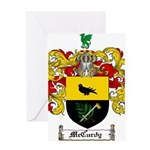 McCurdy Family Crest Greeting Card