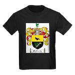 McCurdy Family Crest Kids Dark T-Shirt
