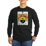 McCurdy Family Crest Long Sleeve Dark T-Shirt
