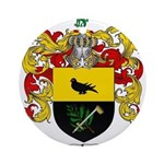 McCurdy Family Crest Ornament (Round)