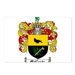 McCurdy Family Crest Postcards (Package of 8)