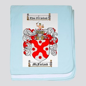 McFarland Family Crest baby blanket