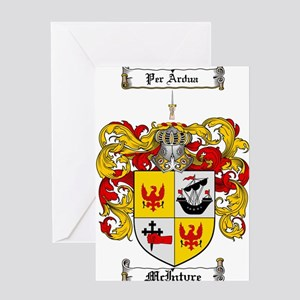 McIntyre Family Crest Greeting Card