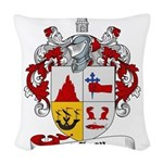 McLean Family Crest Woven Throw Pillow