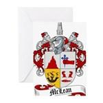 McLean Family Crest Greeting Cards (Pk of 20)