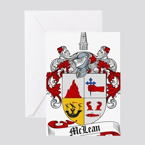 McLean Family Crest Greeting Card