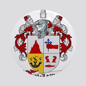 McLean Family Crest Ornament (Round)