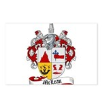 McLean Family Crest Postcards (Package of 8)
