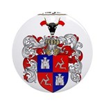 McLeod Family Crest Ornament (Round)