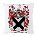 Middleton Family Crest Woven Throw Pillow