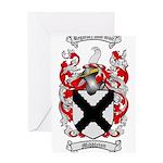 Middleton Family Crest Greeting Card