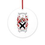 Middleton Family Crest Ornament (Round)