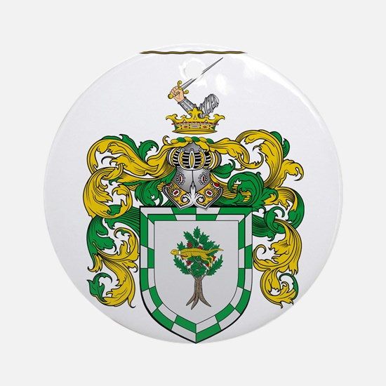 Mooney Family Crest Ornament (Round)
