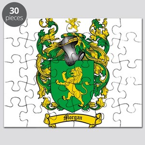 Morgan Family Crest Puzzle
