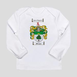 Murphy Family Crest Long Sleeve Infant T-Shirt