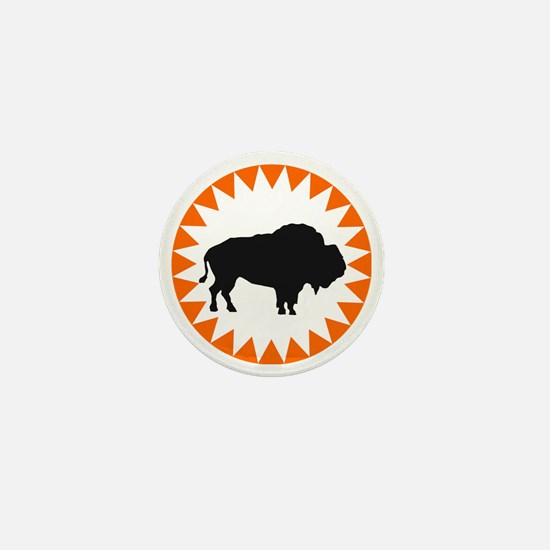 Houston Buffaloes Mini Button
