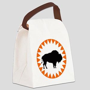 Houston Buffaloes Canvas Lunch Bag