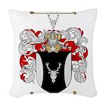 Parker Family Crest Woven Throw Pillow