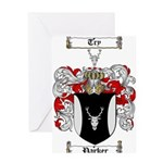 Parker Family Crest Greeting Card