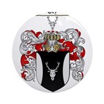 Parker Family Crest Ornament (Round)