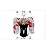 Parker Family Crest Postcards (Package of 8)