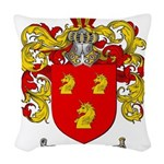 Parrish Family Crest Woven Throw Pillow