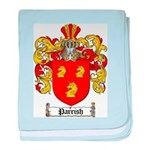 Parrish Family Crest baby blanket