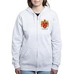 Parrish Family Crest Women's Zip Hoodie
