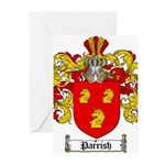 Parrish Family Crest Greeting Cards (Pk of 20)