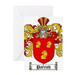 Parrish Family Crest Greeting Card