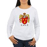 Parrish Family Crest Women's Long Sleeve T-Shirt
