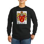 Parrish Family Crest Long Sleeve Dark T-Shirt