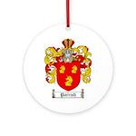 Parrish Family Crest Ornament (Round)