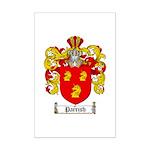 Parrish Family Crest Mini Poster Print