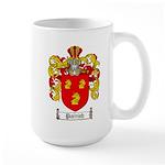 Parrish Family Crest Large Mug