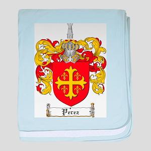 Perez Family Crest baby blanket