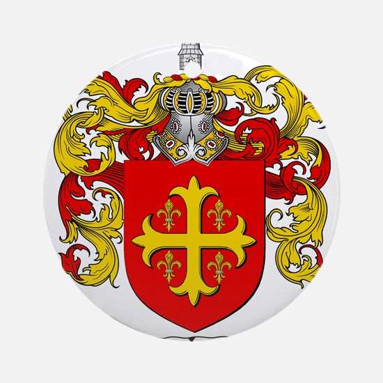 Perez Family Crest Ornament (Round)