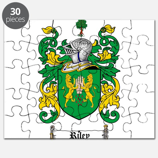 Riley Coat of Arms Puzzle