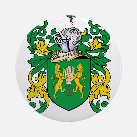 Riley Coat of Arms Ornament (Round)