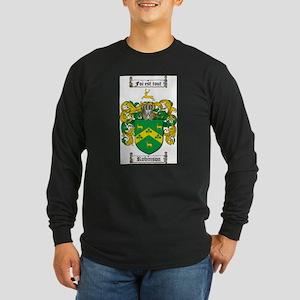 Robinson Coat of Arms Long Sleeve Dark T-Shirt