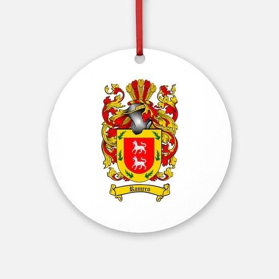 Romero Coat of Arms Ornament (Round)