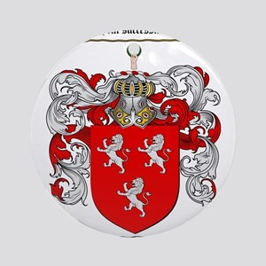 Ross Coat of Arms Ornament (Round)