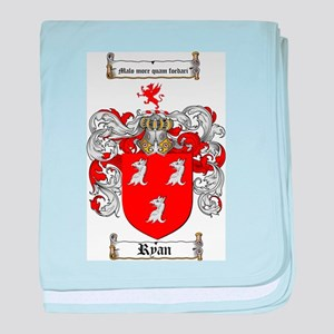 Ryan Coat of Arms baby blanket