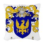 Sanchez Coat of Arms Woven Throw Pillow