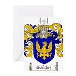 Sanchez Coat of Arms Greeting Card